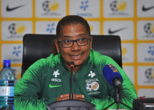 Desiree Ellis coach of South Africa during the Banyana Banyana Team Announcement on the 07 November 2018 at SAFA House  / Pic Sydney Mahlangu/BackpagePix