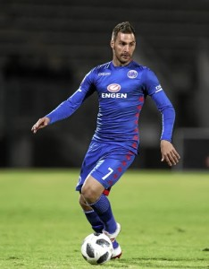 Bradley Grobler of Supersport United during the Absa Premiership 2018/19 match between Supersport United and AmaZulu at the Lucas Moripe Stadium, Atteridgeville on 08 August 2018 ©Muzi Ntombela/BackpagePix